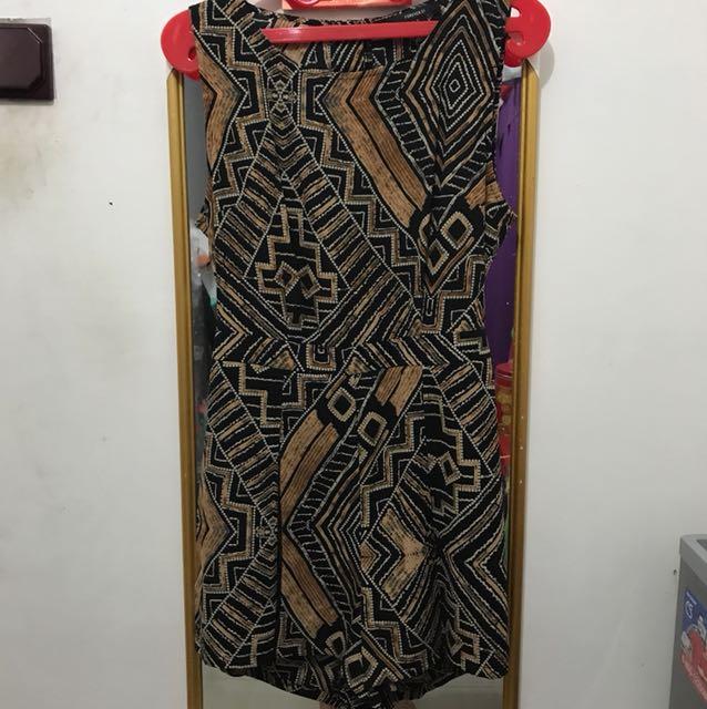 Batik jumsuit
