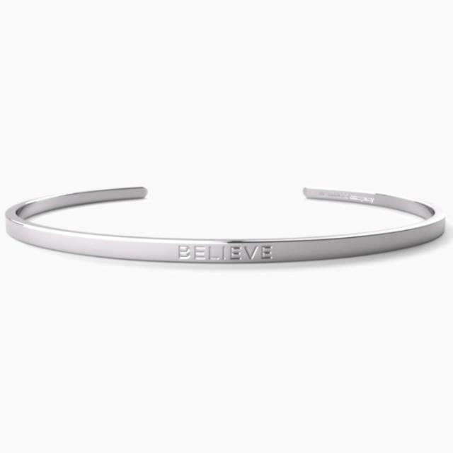 Believe Reminder Cuff (Silver)