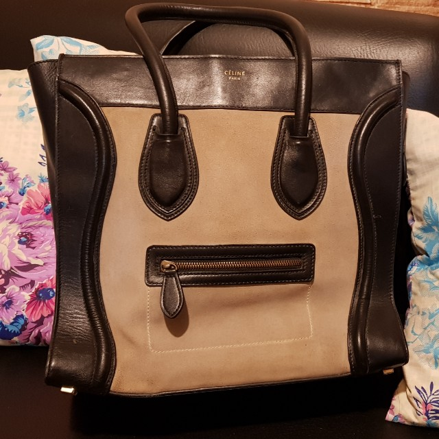 Big Suade CELINE MINI bag