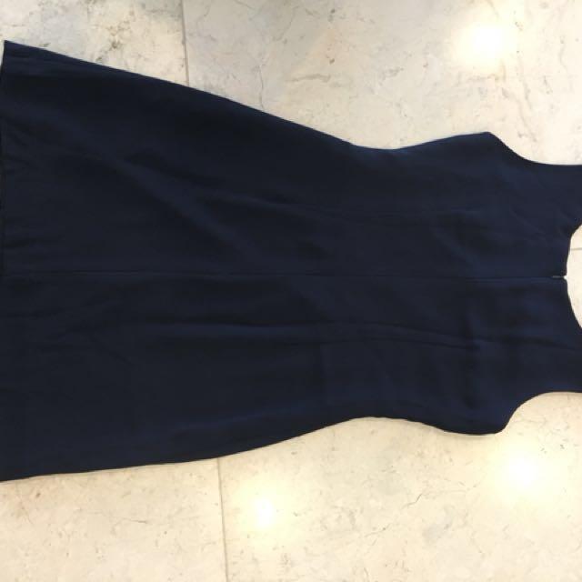 Black Elegant Sleeveless Dress