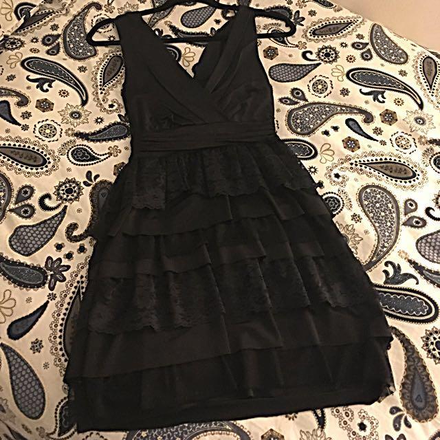 Black Zara  Night Dress