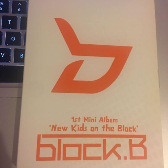 Block B - 1st mini Album + poster