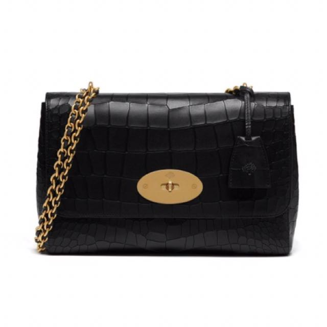 fc5d202fc504 6f7ce 0050a  authentic bn mulberry lily medium croc black luxury bags  wallets on carousell 03e7a e6fc1