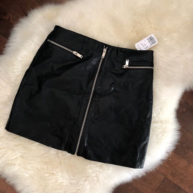 BNWT FOREVER 21 faux-leather skirt
