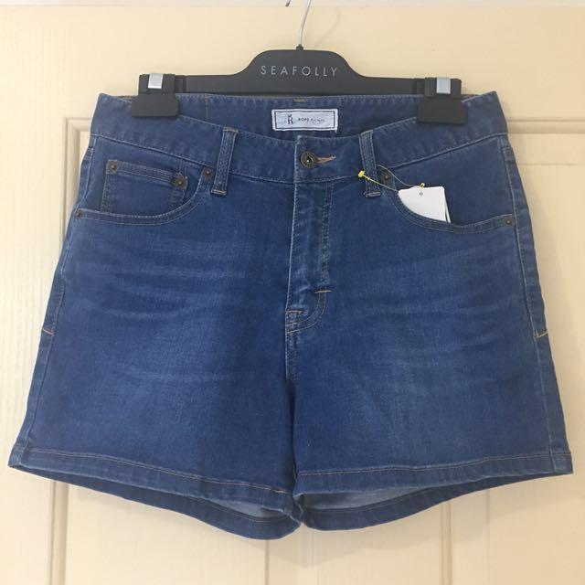 BNWT Ropé Picnic Denim Shorts