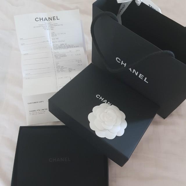 b85b1d92d5a Carousell의 Boy Chanel Small Flap Wallet (Caviar)