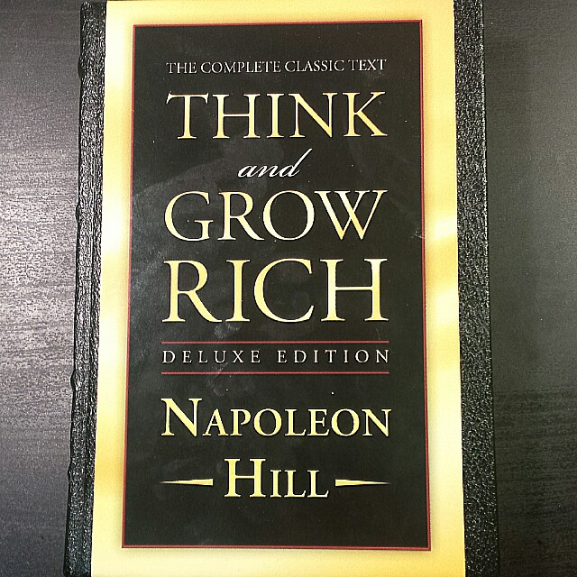 BRAND NEW! Think and Grow Rich by Napoleon Hill Deluxe Edition