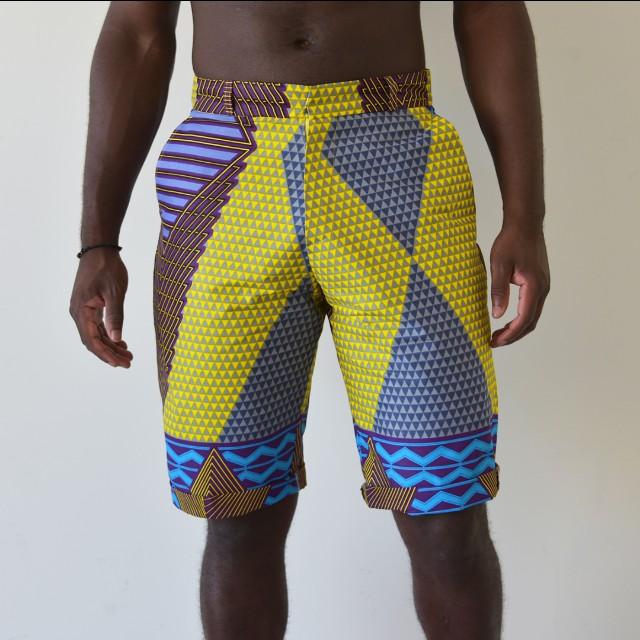 Bright Afrix shorts