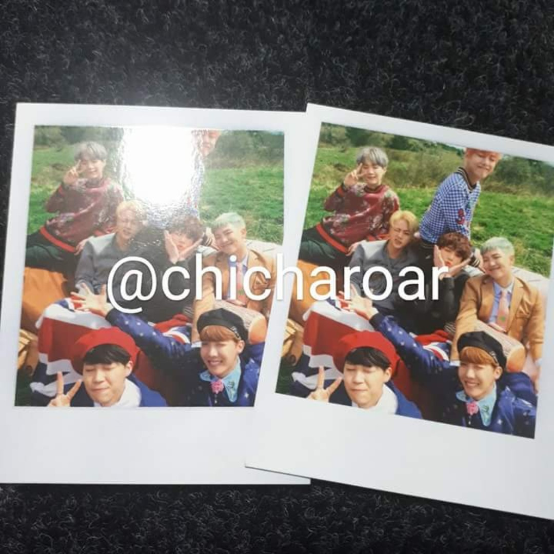 BTS Official You forever polaroid