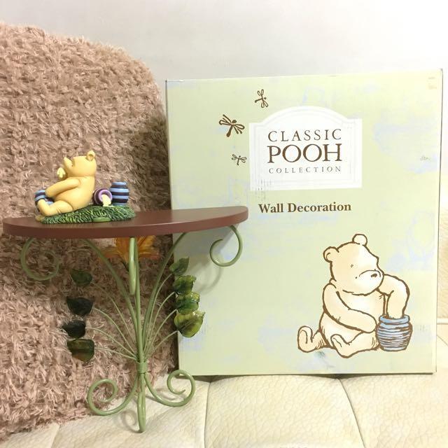 Classic Pooh小置物檯 壁飾(附包裝盒)