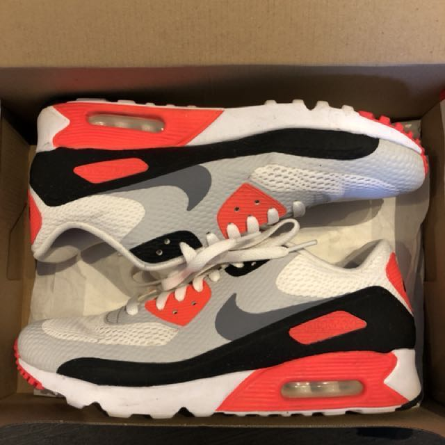 CNY SALE! Nike Air Max 90 Ultra Essential Infrared, Men's