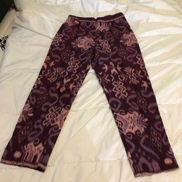 Cottonink tenun pants