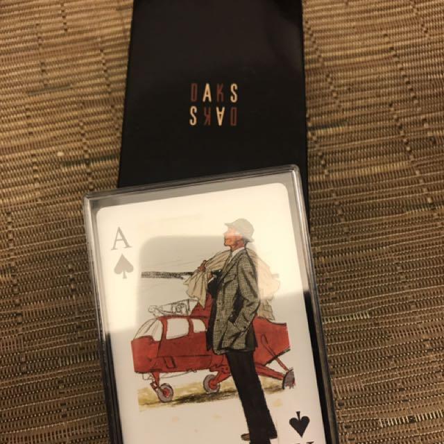 DAKS精品pokers限量版!!!
