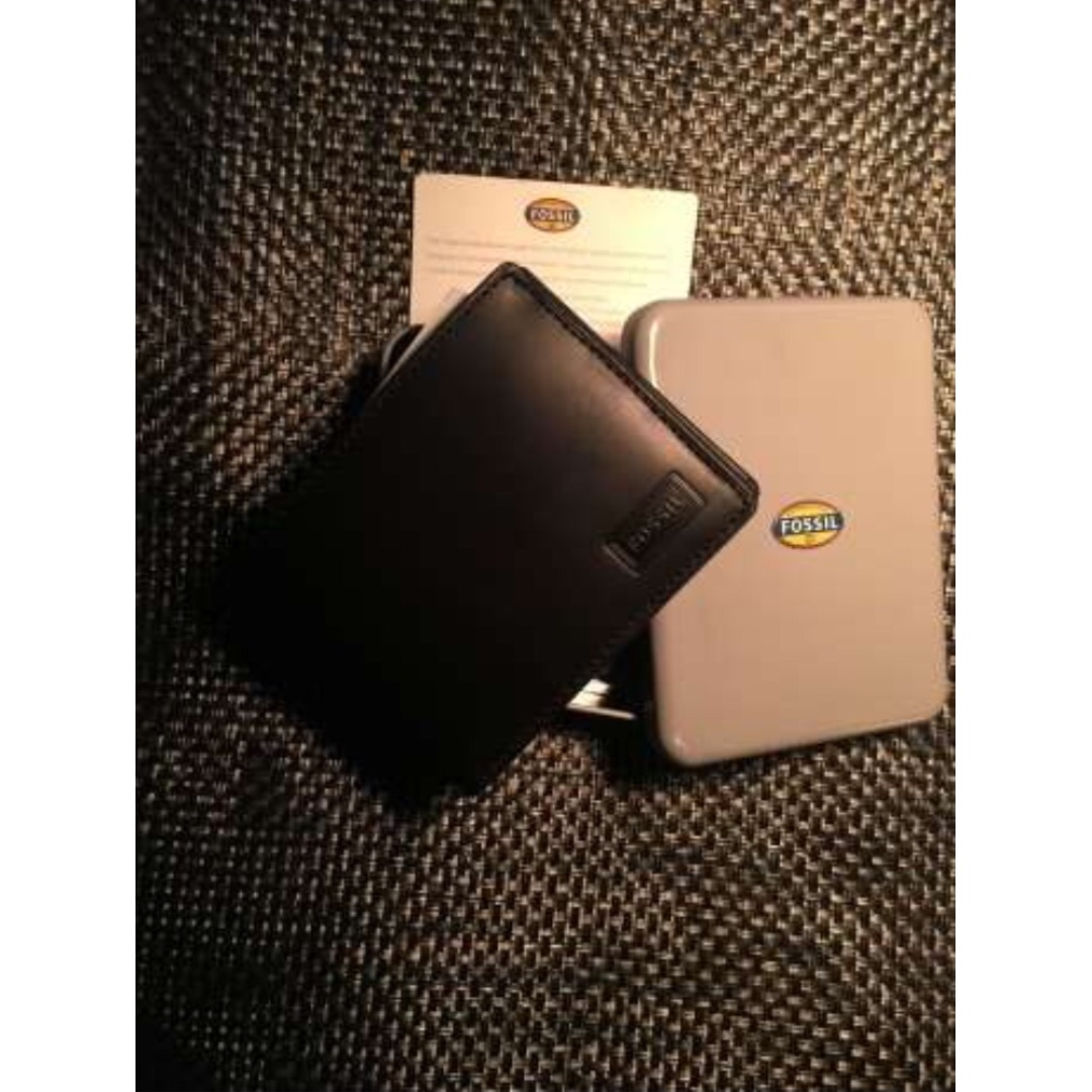 Dompet Fossil wallet genuine leather