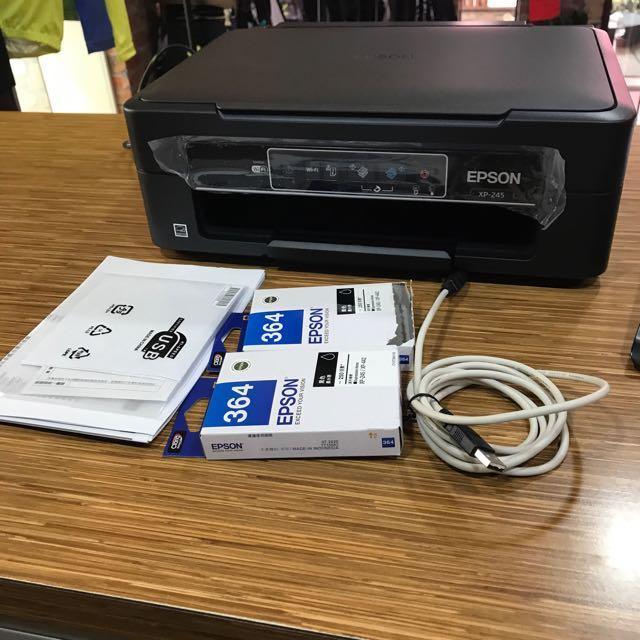 EPSON印表機🖨️九成新 (含一個黑色全新墨水)