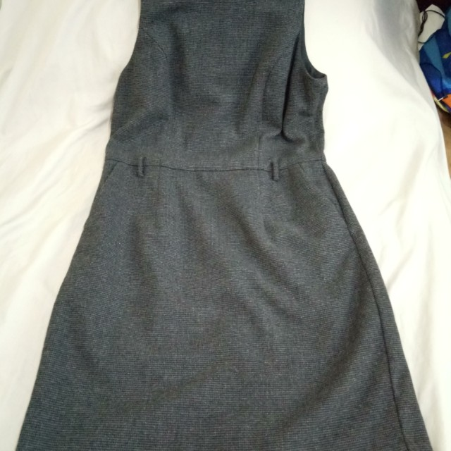 F21 office wool dress