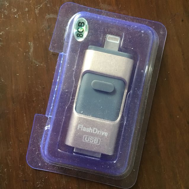 Flashdisk drive OTG 3 in 1 APPLE ANDROID PC 8 GB