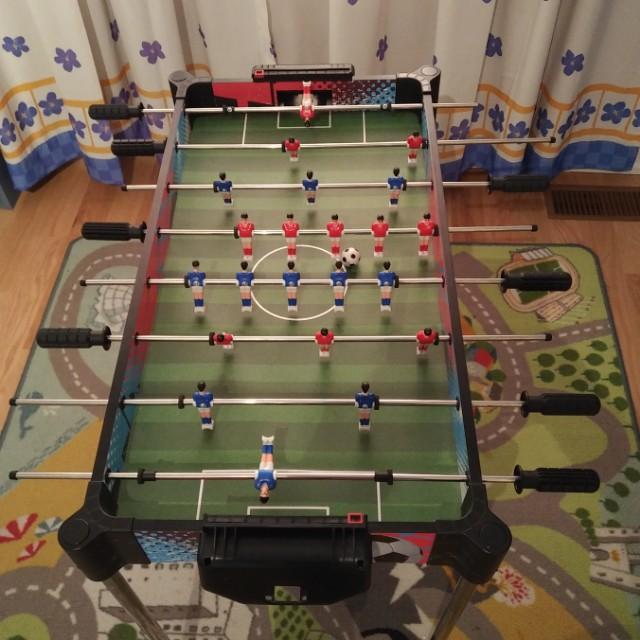 """Foosball table 33""""x18"""""""