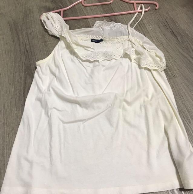 4d60d07a0c8583 gap kids off the shoulder shirt, Women's Fashion, Clothes, Tops on ...