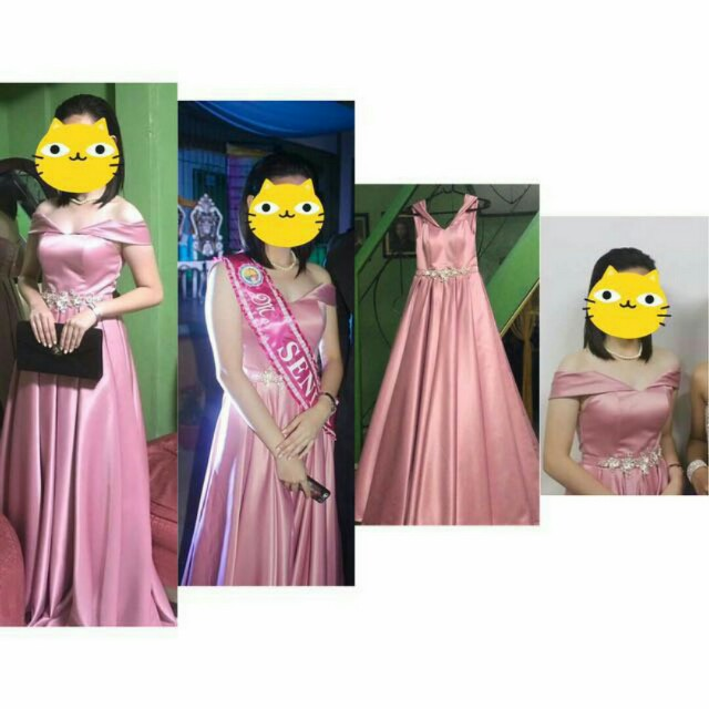 Gown (Old Rose)