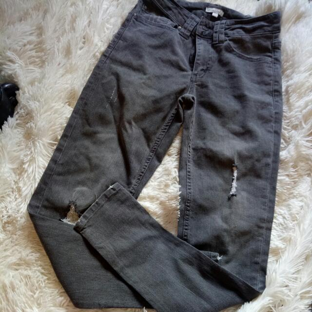 Grey Jeans Target Size 6