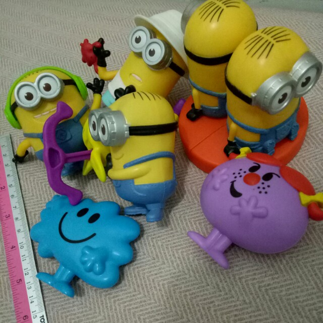 Happy meal Toys minion series
