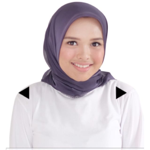 Hijab square button scarves