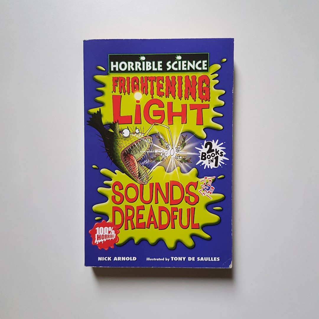 Horrible Science 2-in-1: Frightening Light and Sounds Dreadful + Foul Fact  File