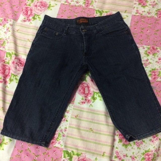 Hotpants black jeans