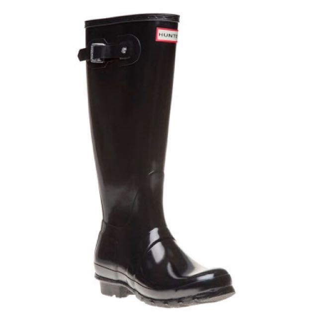 Hunter Original Wellington Boots - Black / AU 6