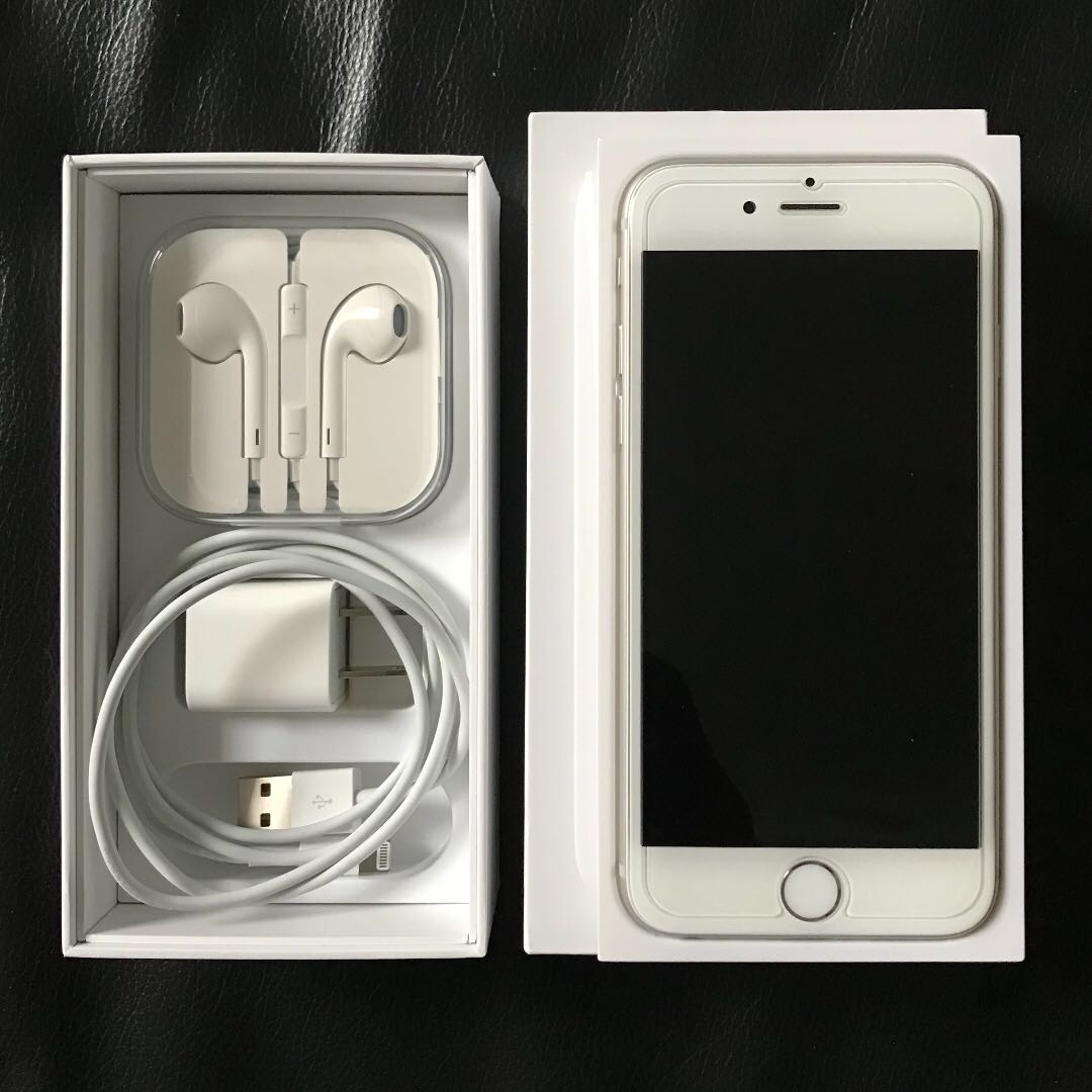 iPhone 6 64GB Silver-Unlocked