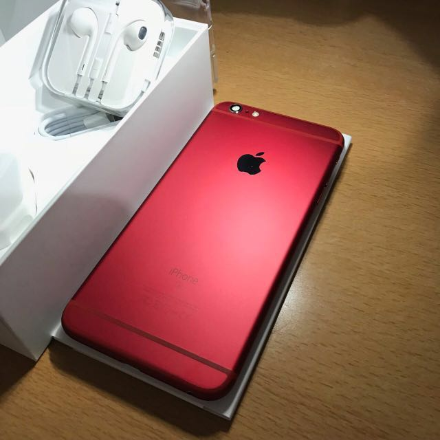 online store 37397 07d3a iPhone 6S Plus Product Red (Non Camera)