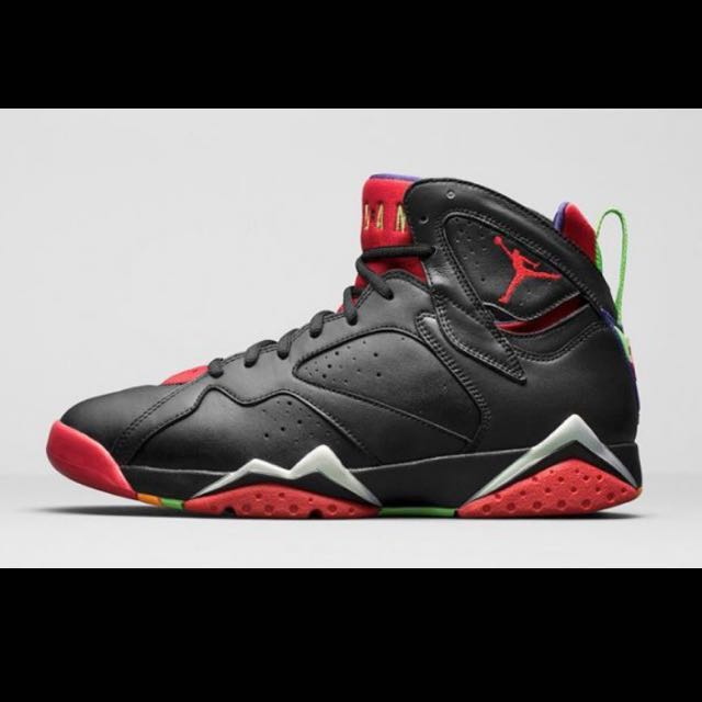 Jordan 7 Marvin The Martian Authentic