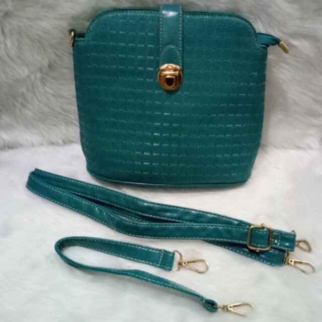 Kimbel Turquoise Multi Way Bag