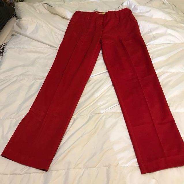 Kivee kulot pants red
