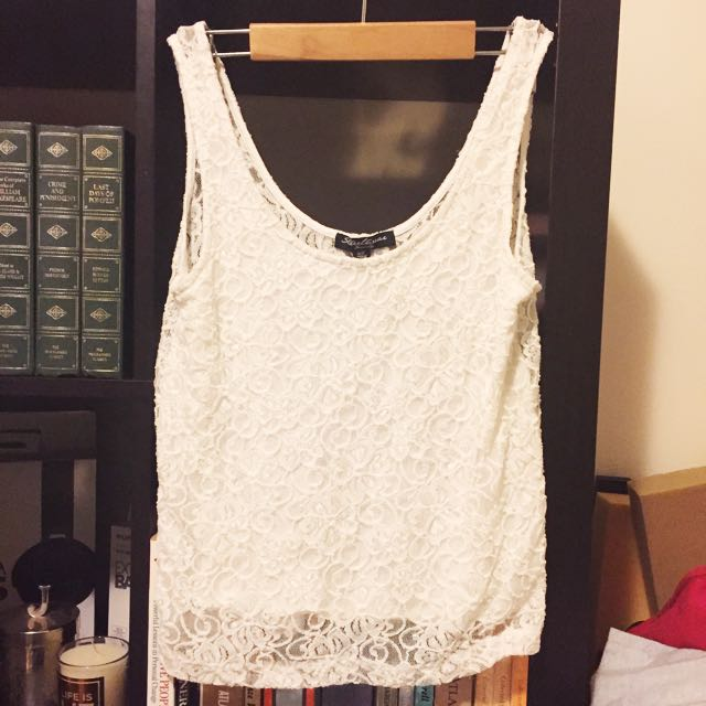 Lace Cropped Cami