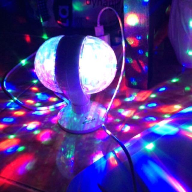 Lampu disco/lampu tidur/ lampu pesta