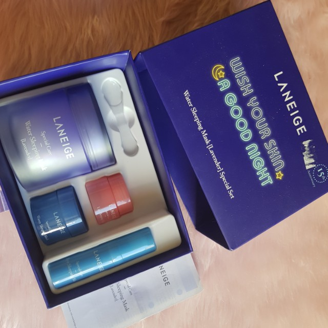 Laneige wish you a goodnight kit