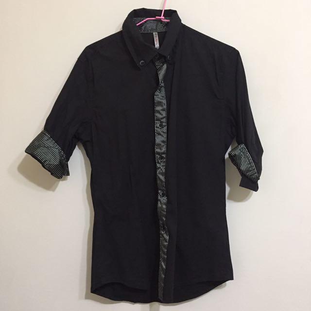 二手✨黑色襯衫M