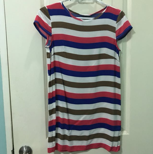 Mango stripe dress