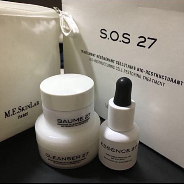 M.E. SKIN LAB S.O.S 27 BIO-RESTRUCTURING CELL RESTORING TREATMENT KIT