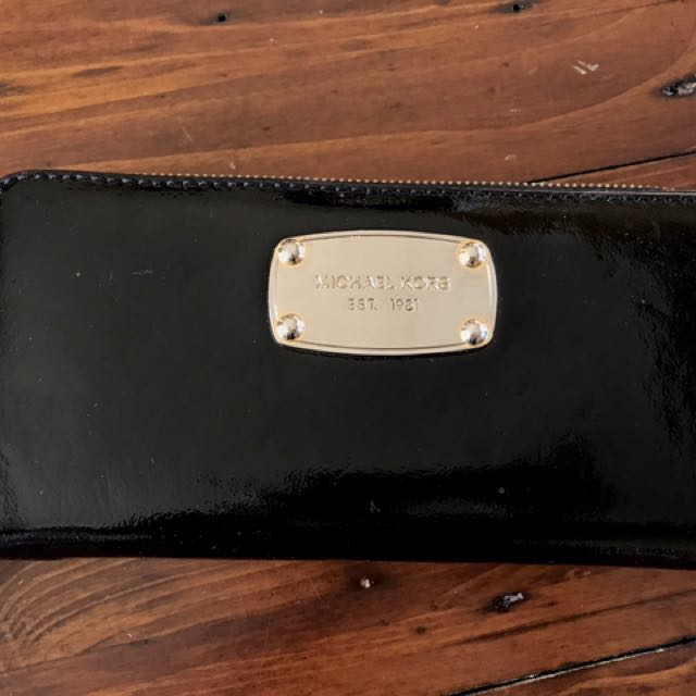 Michael Kors zip-around wallet