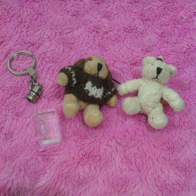Mini Bears With Strap