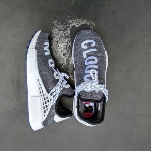 c39842934 Mirror) Pharrell Williams  Human Race  x Adidas NMD HU Trail Cloud ...