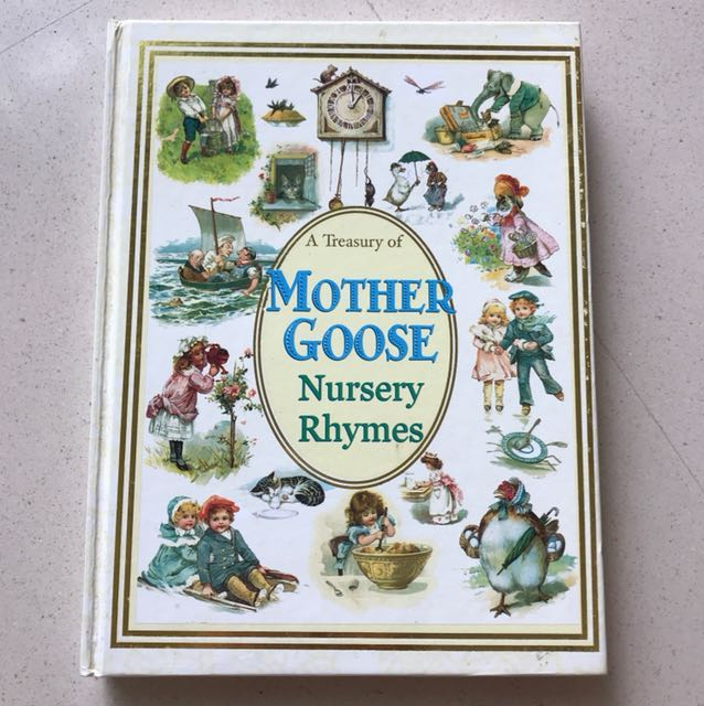 Mother Goose Nursery Rhymes Fairy Tales Books