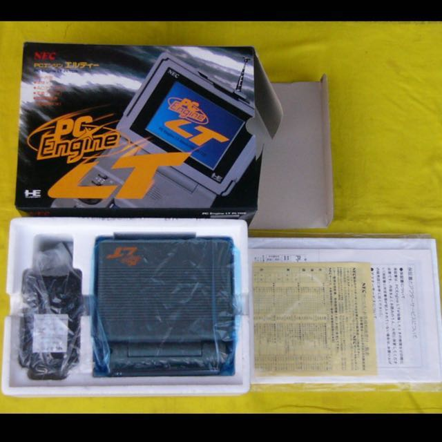 PC Engine LT (Original), Toys & Games, Video Gaming, Consoles on