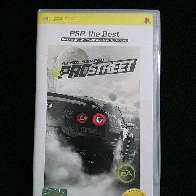 2f624819c PSP: Need for Speed - ProStreet, Toys & Games, Video Gaming, Video ...