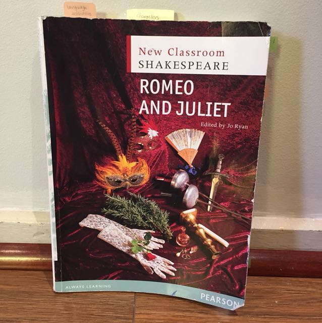 New classroom Shakespeare's Romeo and Juliet