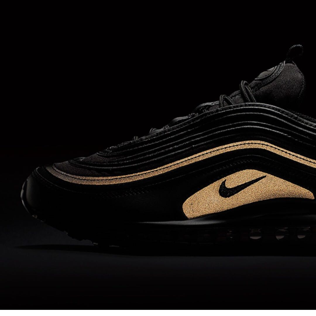 ... germany nike air max 97 black and gold black friday reflective mens  fashion footwear on carousell 5aa66740d