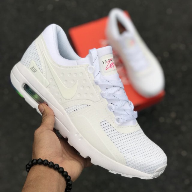 new product f7d15 4e18f NIKE AIR MAX ZERO BE TRUE WHITE, (40-44) COPY ORI